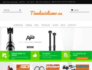 tiendaciclismo.es screenshot