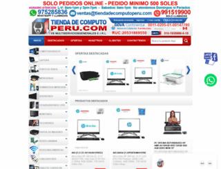 tiendadecomputoperu.com screenshot