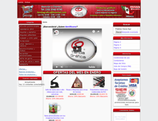 tiendagraficaweb.com screenshot