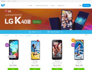 tiendamovistar.com.ar screenshot