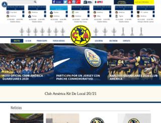 tiendaoficialamerica.com screenshot