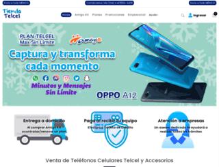 tiendatelcel.com.mx screenshot