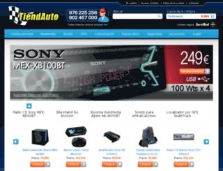 tiendauto.com screenshot