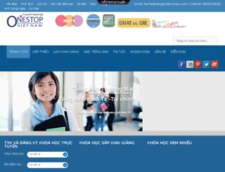 tienganhbusiness.com screenshot