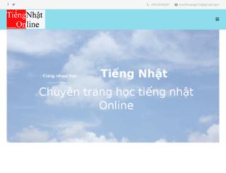 tiengnhatonline.org screenshot
