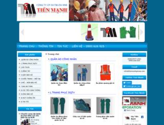 tienmanhgroup.com screenshot