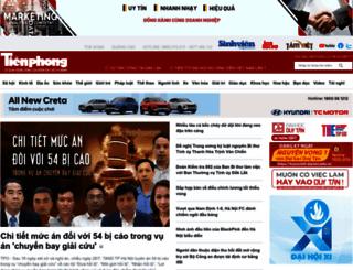 tienphong.vn screenshot