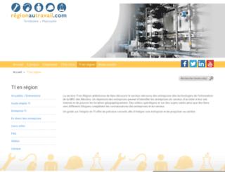 tienregion.com screenshot