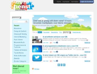tienst.nl screenshot