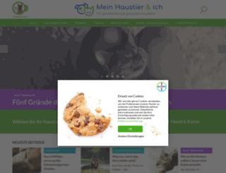 tierfreunde.bayer.de screenshot