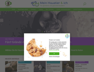 tiergesundheit.bayervital.de screenshot