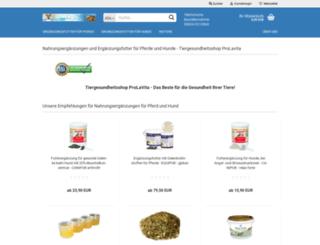 tiergesundheitsshop.de screenshot