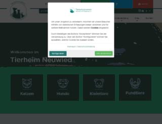 tierheim-neuwied.de screenshot