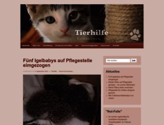 tierhilfe-sw.de screenshot