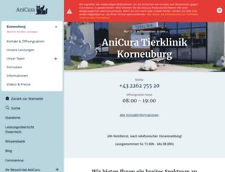 tierklinik-korneuburg.at screenshot