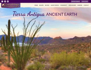 tierraantigua.com screenshot