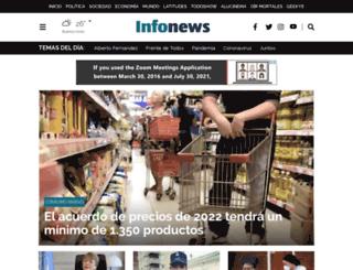 tierradelfuego.infonews.com screenshot