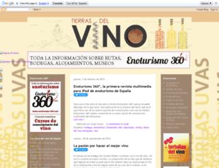 tierrasdelvino.blogspot.com screenshot