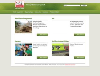 tierwelt-muenchen.de screenshot
