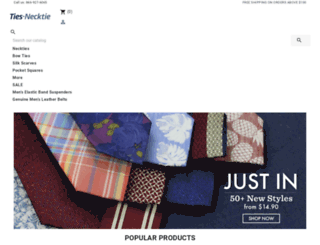 ties-necktie.com screenshot