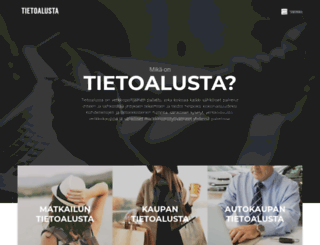 tietoalusta.fi screenshot