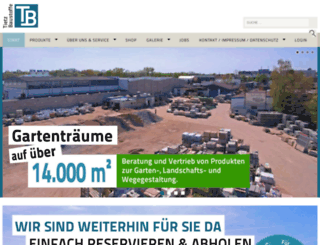 tietz-baustoffe.com screenshot