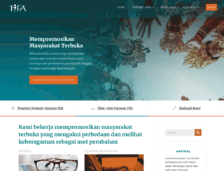 tifafoundation.org screenshot