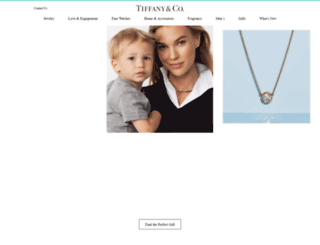 tiffany.com screenshot