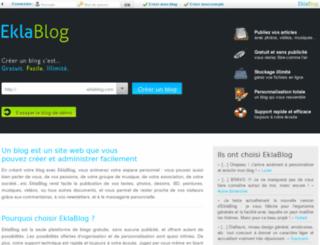 tiffanybangles11.blogueuse.fr screenshot