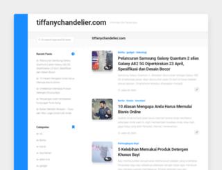 tiffanychandelier.com screenshot