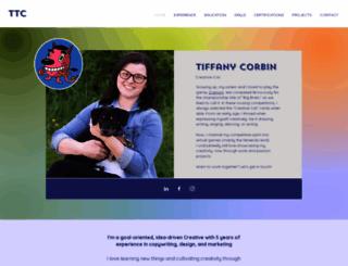 tiffanycorbin.com screenshot