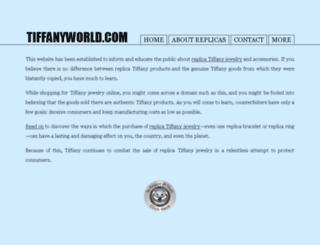 tiffanyin.org screenshot