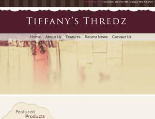 tiffanysthredz.ca screenshot