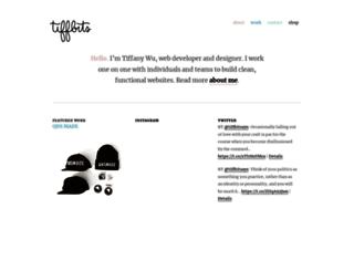 tiffbits.com screenshot