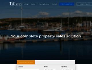 tiffen.co.uk screenshot