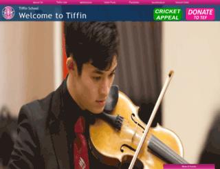 tiffin.kingston.sch.uk screenshot