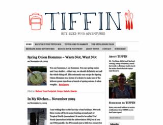 tiffinbitesized.com.au screenshot