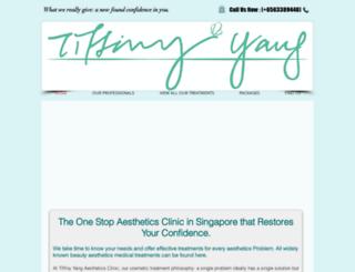 tiffinyyangclinic.com screenshot