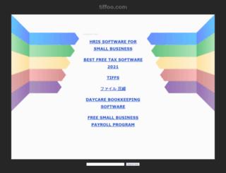 tiffoo.com screenshot