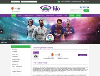 tifofootballtickets.com screenshot