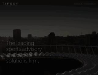 tifosy.com screenshot