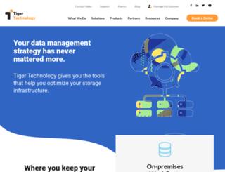 tiger-technology.com screenshot