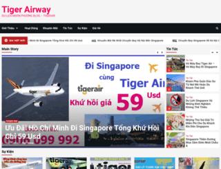tigerairway.vn screenshot
