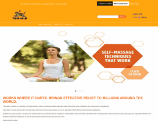 tigerbalm.co.uk screenshot