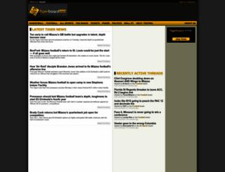 tigerboard.com screenshot
