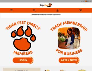 tigerfeetparty.com screenshot