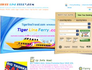 tigerlinetravel.com screenshot