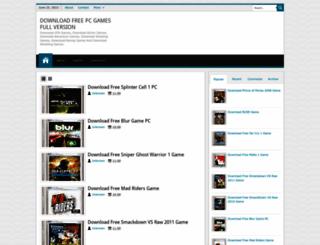 tigerpcgames.blogspot.com screenshot
