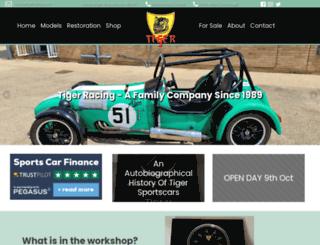tigerracing.com screenshot