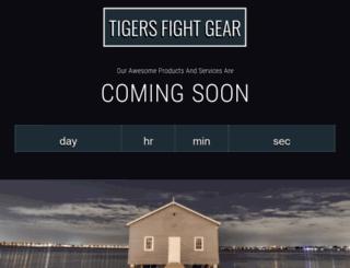 tigersfightgear.com screenshot
